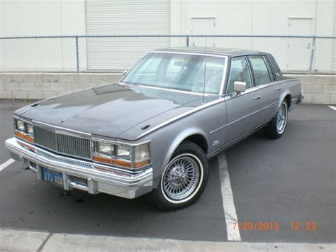 1979 Cadillac Seville Elegante For Sale by Purchase Used 1979 Cadillac Seville Elegante One Owner