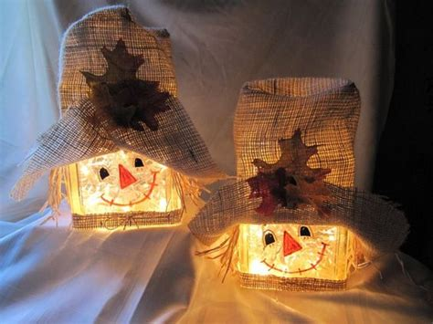 glass block crafts projects the best pumpkins scarecrow costumes and crafts