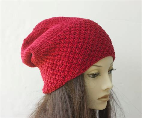 pattern for knitted slouch hat knit slouch hat pattern by black iris knitting pattern