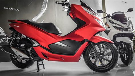 Pcx 2018 Inden by New Post 4 Pilihan Warna Honda New
