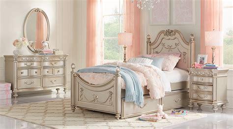 disney princess bedroom furniture collection disney princess silver 5 pc poster bedroom