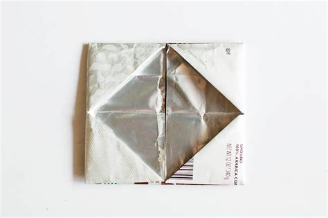 coffee origami origami wallet from a coffee bag giving back with