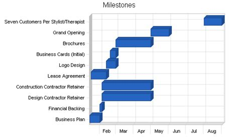 milestone kitchen planner plan your health spa business plan sle strategy and