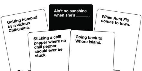 Make Your Cards Against Humanity Sessions More Nsfw Than
