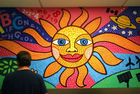 Painting Murals On Outside Walls 7 wall mural painting sun image
