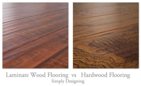 hardwood floors vs laminate floating laminate wood vs hardwood flooring