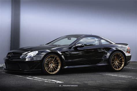 Black Series Mercedes by Mercedes Sl65 Amg Black Series Gets New Set Of Rims