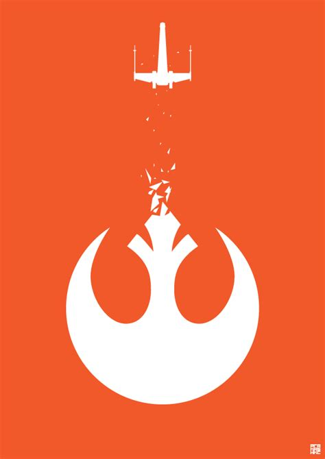 star wars rebel alliance poster by purakashi on deviantart