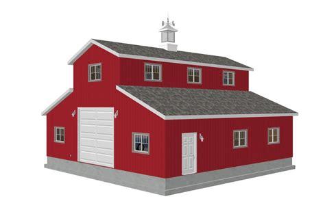 Metal Building Floor Plans With Living Quarters g315 40x40 10 sds plans