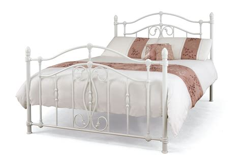 white metal bed home decorating pictures white metal framed bed