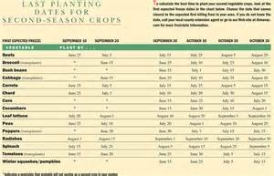 vegetable garden plants list fall garden what to plant for the fall planting dates
