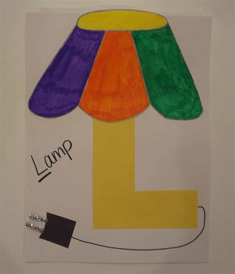 l craft for letter l crafts preschool and kindergarten