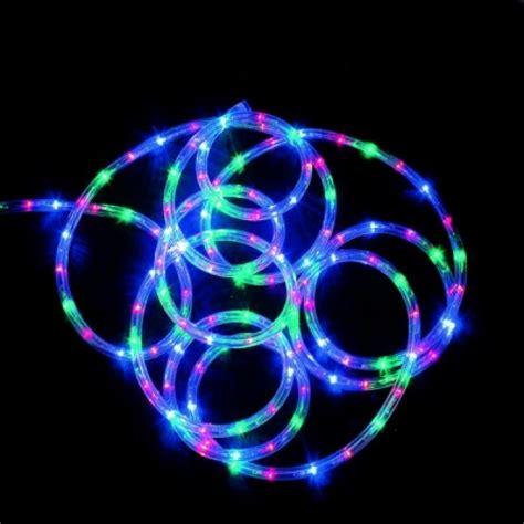 coloured rope lights premier 5m led supabrights rope light multi coloured led