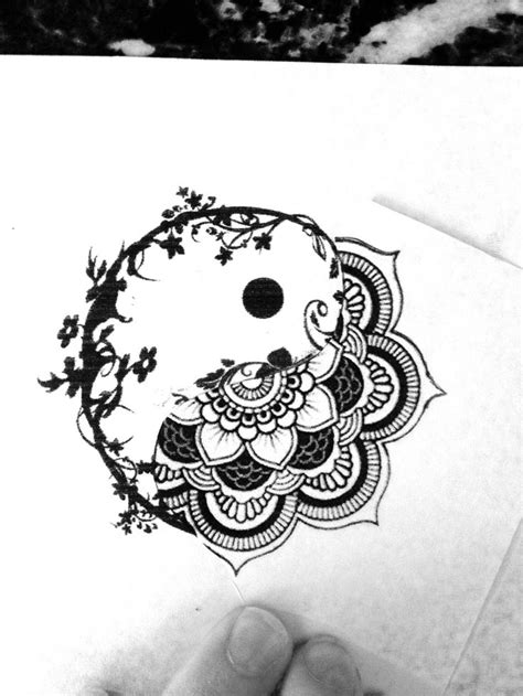 yin yang mandala tattoos pinterest logos the o jays