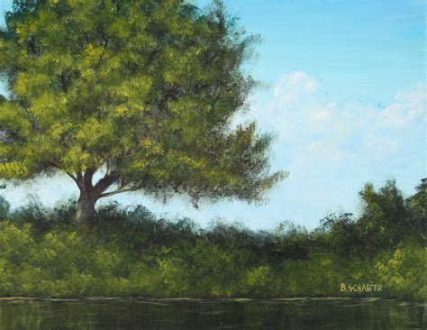 acrylic paint tree landscape painting 101 how to paint trees in acrylics