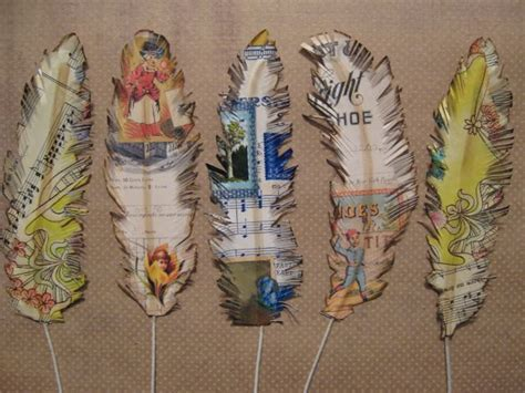 feathers for craft projects more paper feather craft ideas diy