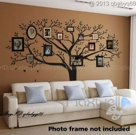 family photo tree wall decor wall sticker vinyl home decals room decor mural branch