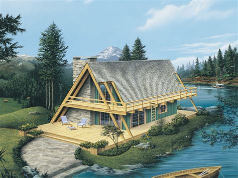 a frame lake house plans yukon rustic a frame home plan 008d 0162 house plans and