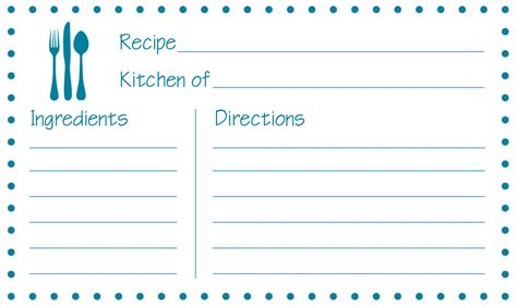 how to make recipe cards on word free printable recipe cards jayme sloan hennel