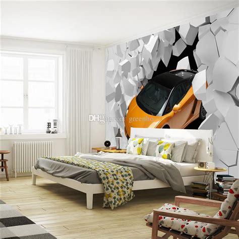 Car Wallpaper For Walls by 3d Sports Car Photo Wallpaper Wall Mural Unique