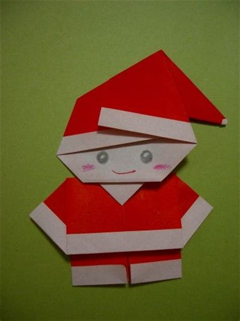 santa origami santa origamei diy so your craft