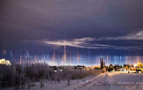 light pillars wordlesstech light pillars alaska
