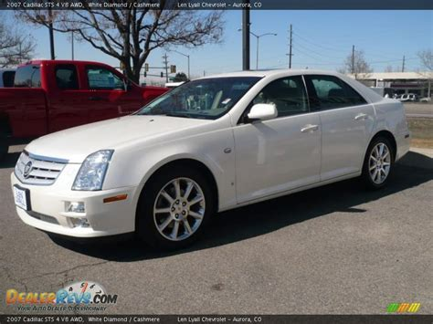 2007 Cadillac Sts 4 by 2007 Cadillac Sts 4 V8 Awd White Photo