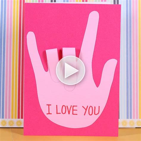 Sign Language S Day Card