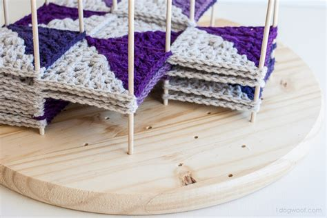 knitting blocking board modular crochet blocking station one woof