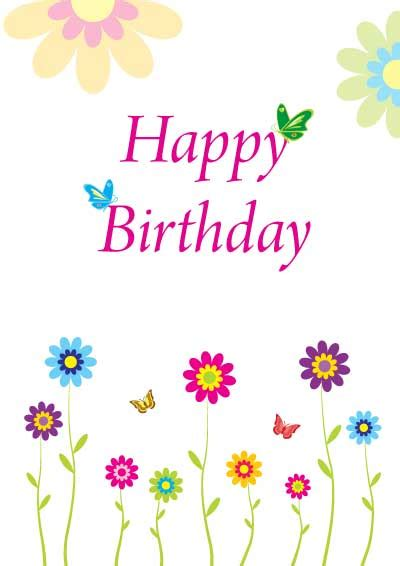 birthday card free printable birthday cards for friends for for images