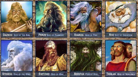 of gods the gods of slavic mythology