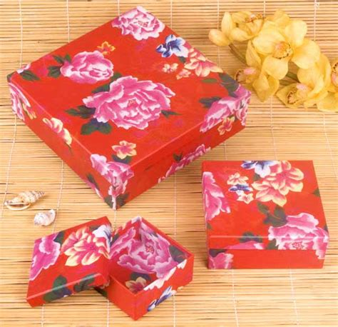 crafts with wrapping paper peony flower keepsake boxes arts crafts wrapping paper