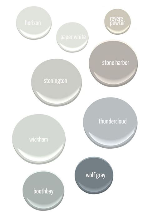paint colors gray gray paint colors from benjamin horizon paper