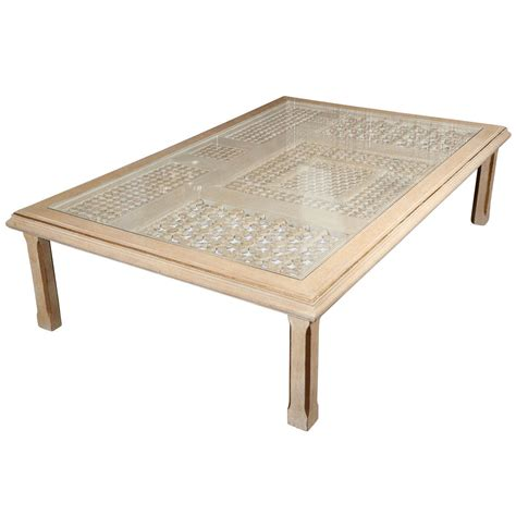 Moroccan Rectangular Coffee Table at 1stdibs