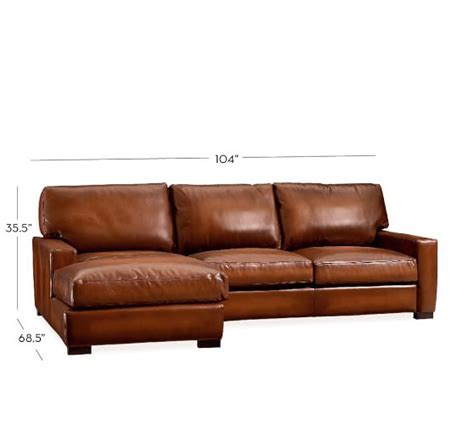 sectional leather sofas with chaise turner square arm leather sofa with chaise sectional