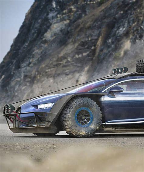 Bugatti Chiron Designer by Venezuelan Designer Reimagines The Bugatti Chiron As An