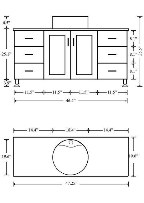 standard bathroom vanity dimensions what is the standard height of a bathroom vanity paperblog