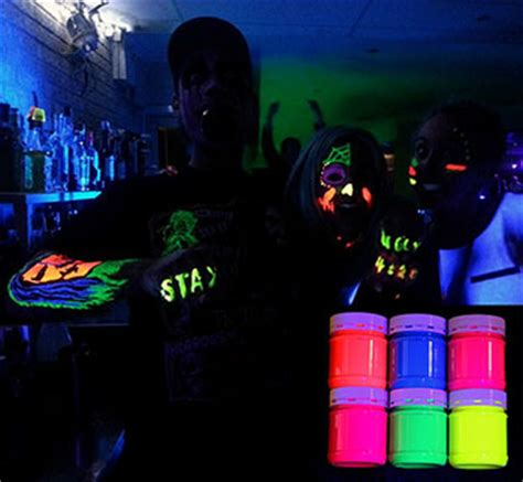 glow in the paint clubs uv glow and paint