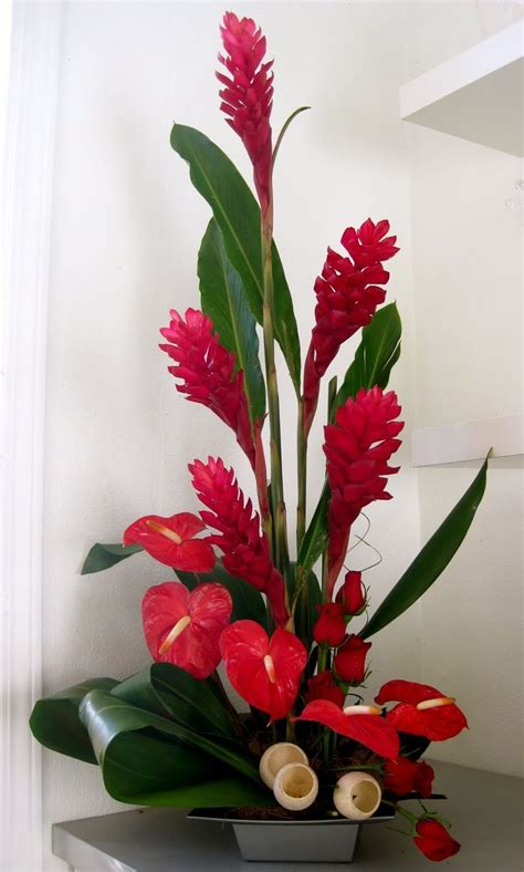 Tropical Decorations by M 225 S De 25 Ideas 250 Nicas Sobre Arreglos De Flores Tropicales