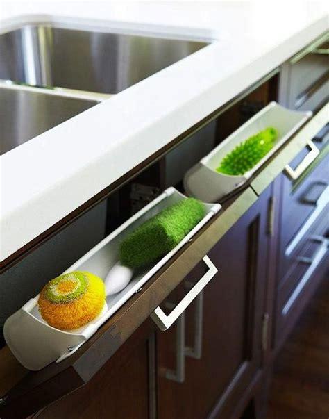 kitchen sink pull out storage creative sink storage ideas 2017
