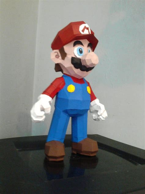 mario crafts for mario papercraft by dannynvrr on deviantart