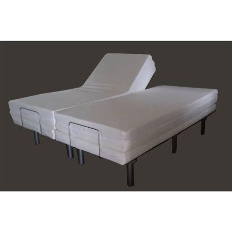 king size electric adjustable bed frame electric split king adjustable bed frame buy
