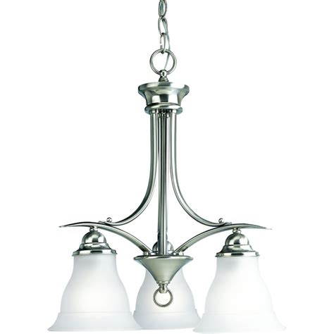 chandeliers home depot canada progress lighting collection brushed nickel 3