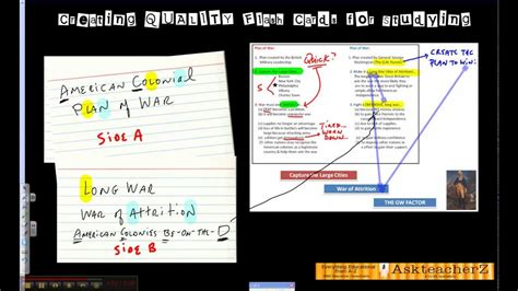 card techniques and tips flash card study techniques