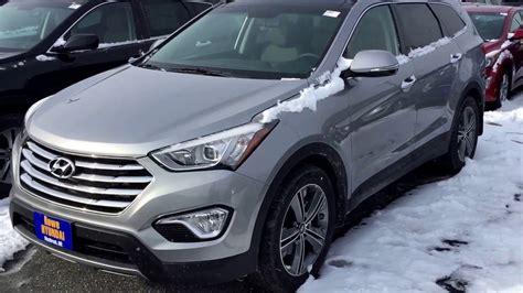 Rowe Hyundai 2016 hyundai santa fe se awd third row rowe hyundai