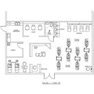 floor plan for hair salon 7 best salon floor plans millwork drawings images on