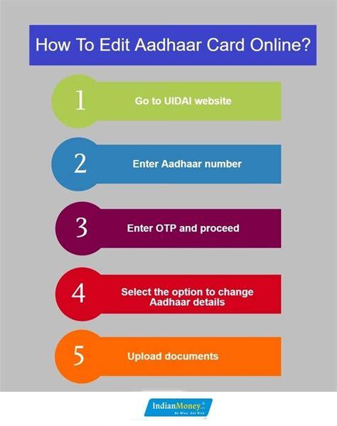 i want to make aadhaar card how can we change the name in an aadhaar card offline quora