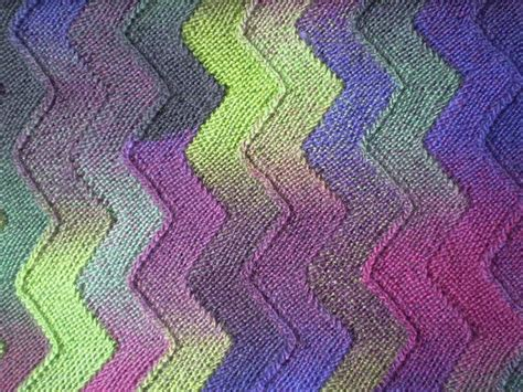 zigzag knitting pattern blanket ten stitch zigzag knit pattern crochet or knit afghans