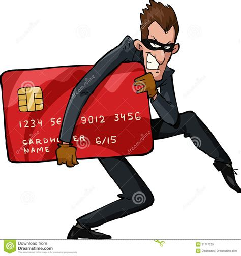 how do thieves make credit cards thief royalty free stock photo image 31717335