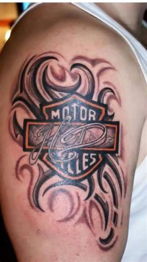 Harley Davidson Tattoos Tribal by Tribal Harley Davidson Shared By Our Fan Hommie V